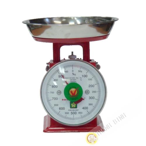 Báscula de cocina 1kg