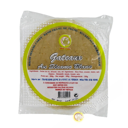 Cake white sesame DRAGON GOLD 200g Vietnam