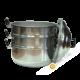 Steam pot aluminium