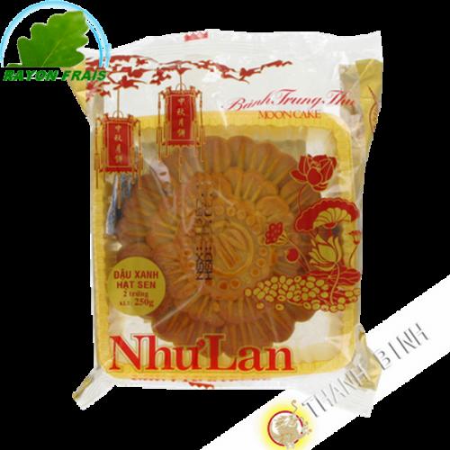 Cake of the moon, soybean-lotus-durian 2T 250g - NHU LAN