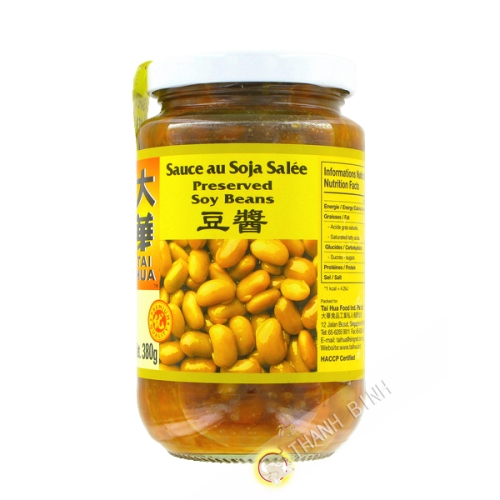 Sauce yellow bean, salted TAI HUA 380g Singapore