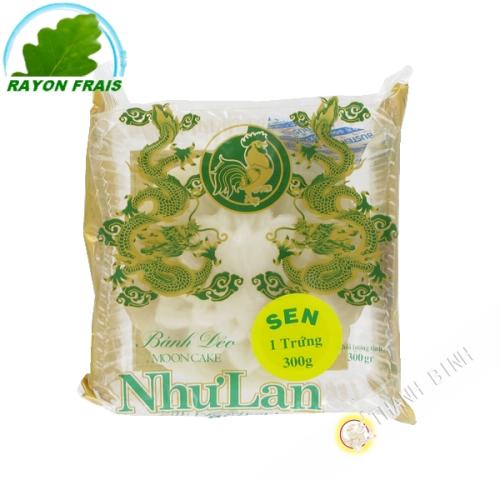 Cake moon white lotus 1T 300g - NHU LAN