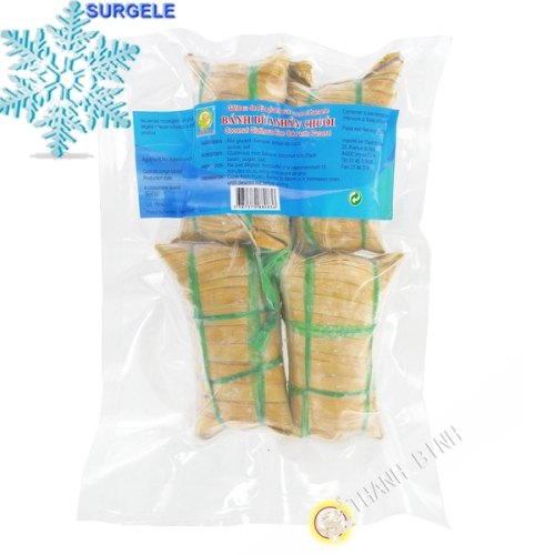 Cake sticky rice, coconut and banana DRAGON GOLD-500g - SURGELES