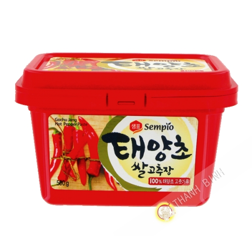 La pasta de chile rojo 500g
