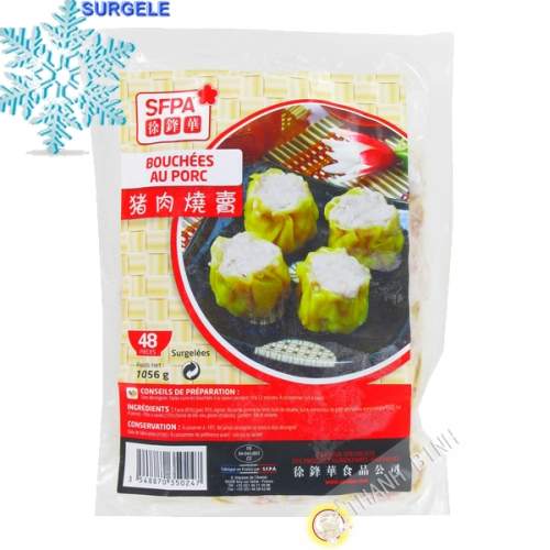 Bouchees pork 48pcs - SURGELES
