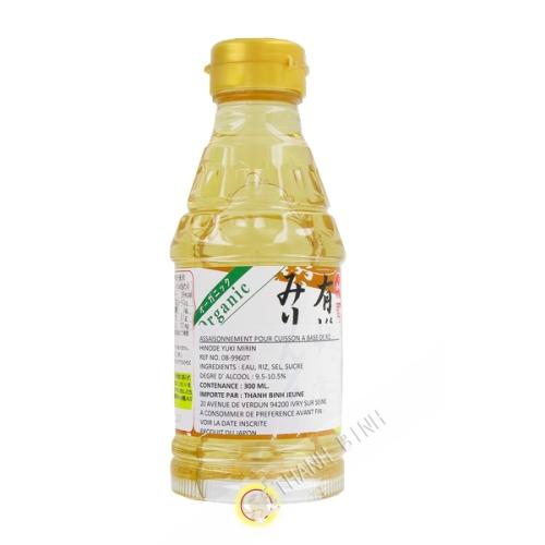 Assaissonnement para la cocción del arroz orgánico HON 300 ml de MIRIN Japón