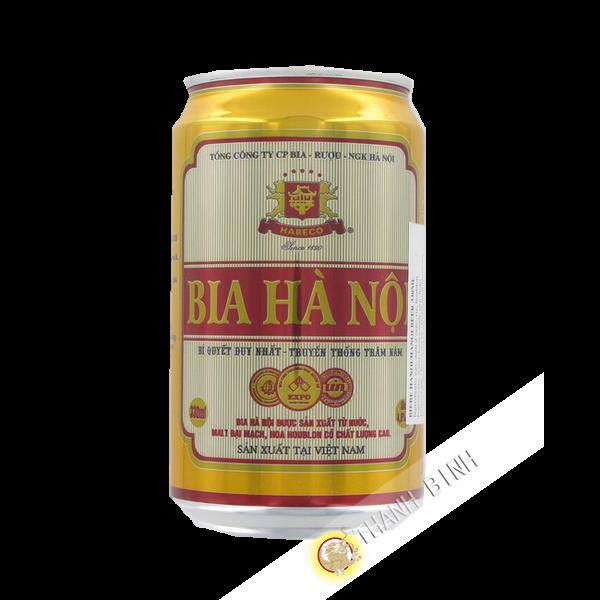 Bière Hanoi Canette HABECO 330ml Vietnam
