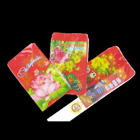 Red envelope 10pcs PM 6,5x12cm Vietnam
