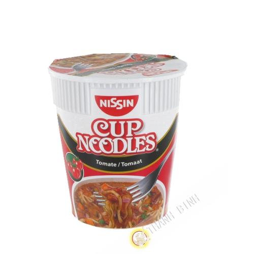 Soup noodles tomato cup NISSIN 63g