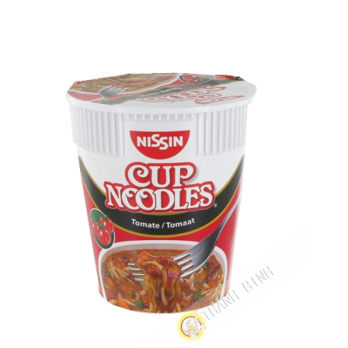 Suppe noodles tomate NISSIN cup 63g