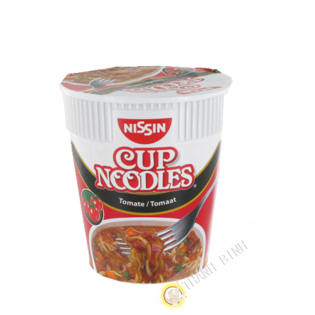 Soupe noodles tomate cup NISSIN 63g