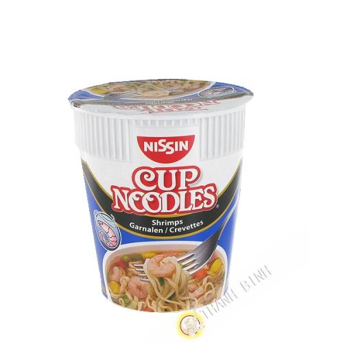 La zuppa di noodles gamberetti hamayak coppa NISSIN 63g