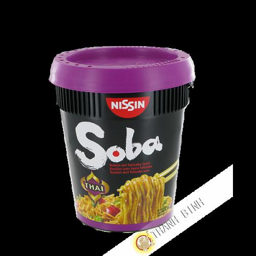Tagliatelle con il yakisoba salsa di Sapore Thai NISSIN 88g
