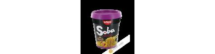 Nouilles Soba Thai avec sauce yakisoba NISSIN 88g