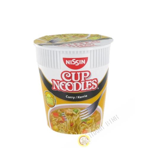 Soup noodles curry cup NISSIN 67g