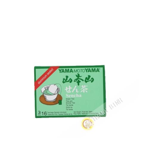 Sencha green tea in bag YAMATOMOYAMA 32g USA