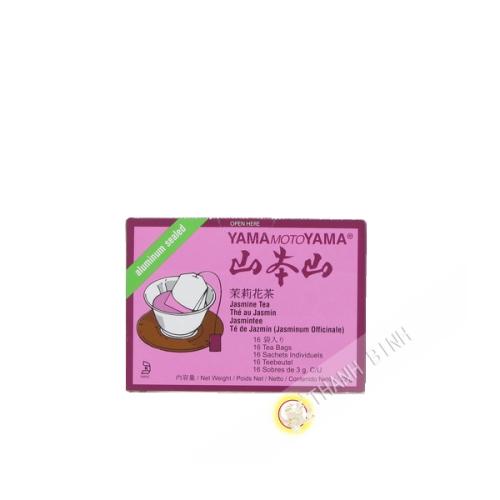 El té de jazmín en la bolsa de YAMAMOTOYAMA 32g, estados UNIDOS