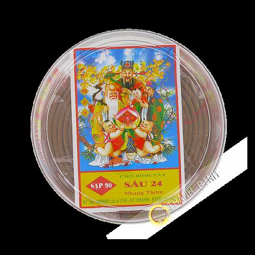 Encens ronde parfumé 13cm Vietnam