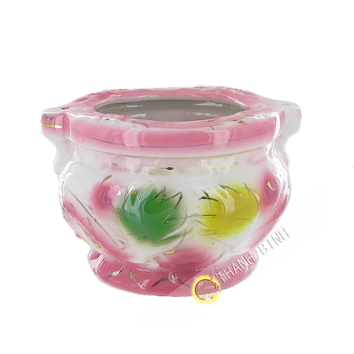 Censer porcelain 8x10cm Vietnam