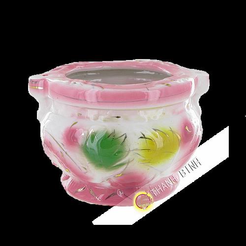 Encensoir en porcelaine 8x10cm Vietnam