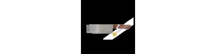 """Coltello cucina rettangolo di 6.5"""" 4.5x28cm TH172 KIWI Thailandia"""