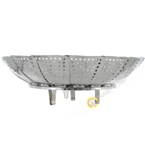 Elemento di vapore a piedi in acciaio inox 14 cm o 18,5 cm Vietnam