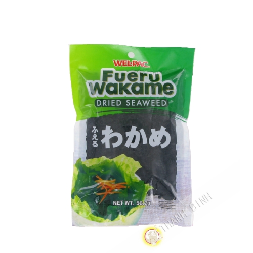 Algues Wakame WEL-PAC 56.7g