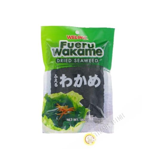 Las algas Wakame WEL-PAC 56.7 g