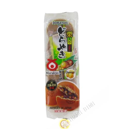 Gâteau haricots rouges et châtaigne Kuriiri Dorayake 5pcs MARUKYO 300g Japon