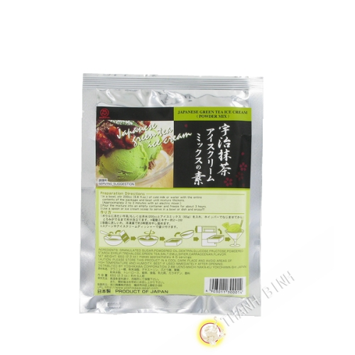 Preparing green tea ice cream Matcha MARUFUJI 65g Japan