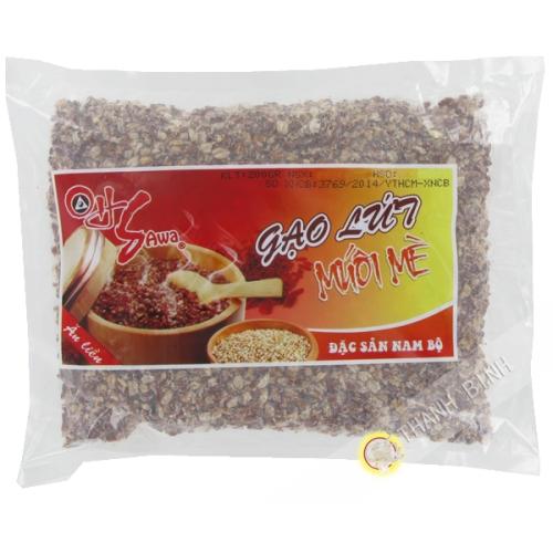 Riz complet soeufflé au sésame 200g Vietnam