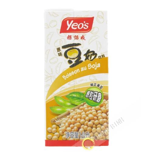 Milk soy brick 1l