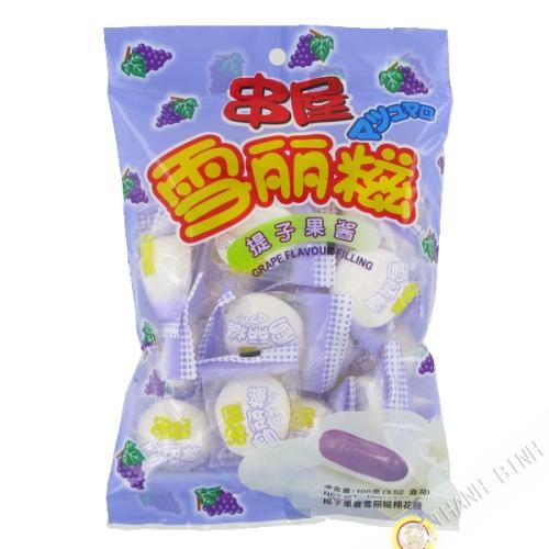 Caramelle Marshmallow uva PSP 100g Cina