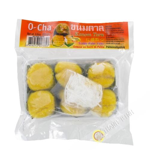 Gateaux au sucre de palme O-Cha 250g Thailande