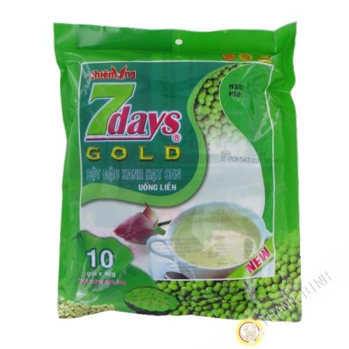 La preparación de la bebida de la haba de mung Lotus Thien Ung 10x40g Vietnam
