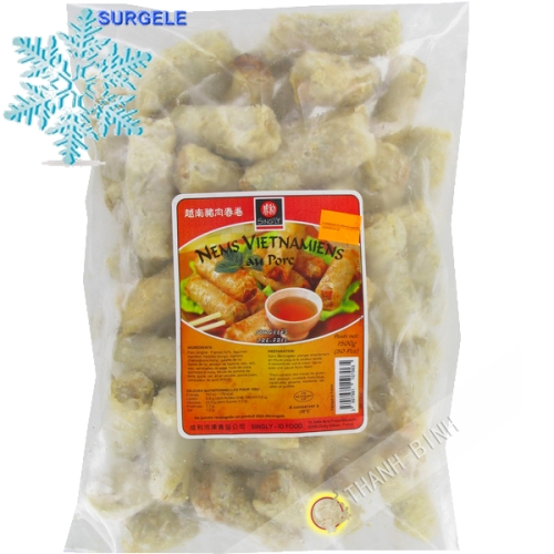 Nems Vietnamiens au porc 50pcs SINGLY 1,5kg France - SURGELES