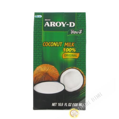 Crema de coco uht AROY-D 500ml