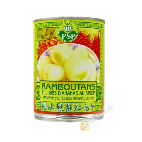 Rambutan mit pelz ananas PSP 565g Thailand