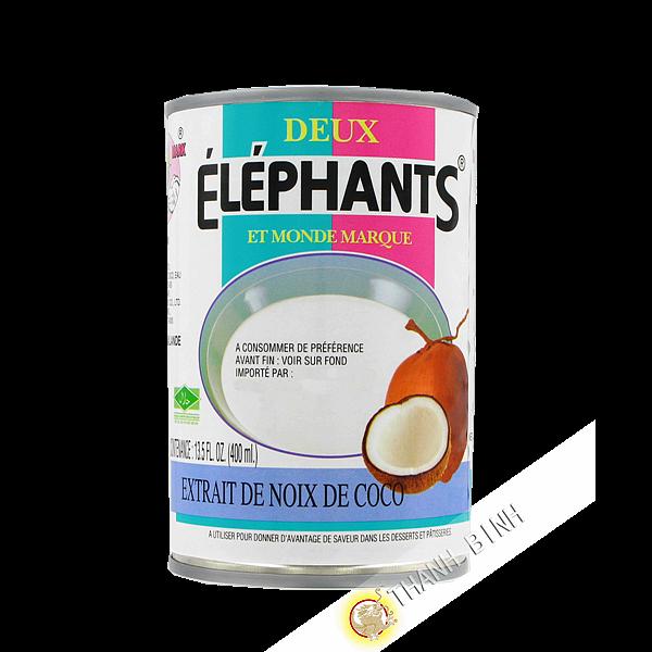 Coconut milk ELEPHANTS 400ml Thailand