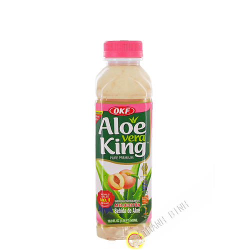 Drink aloe vera King peach OFK 500ml Korea