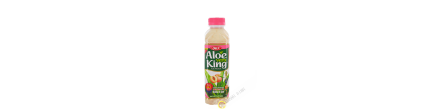 Drink aloe vera King peach OFK 500ml Korea