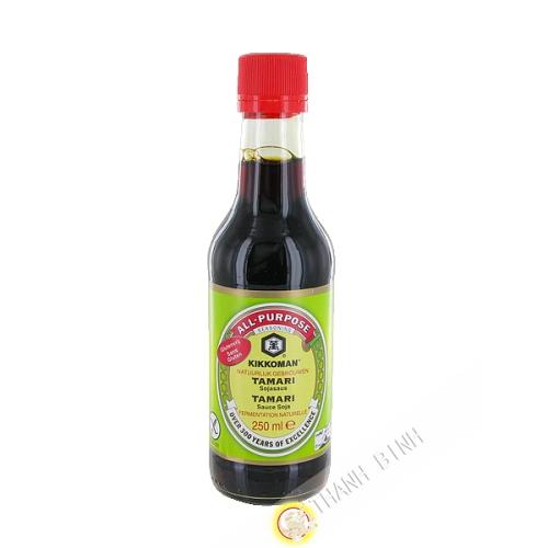 Soy Sauce Tamari gluten-free KIKKOMAN 250ml Germany