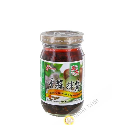 Sauce à l'ail frit avec huille de soja MASTER 210g Taiwan