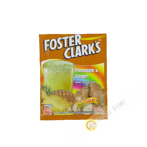 Boisson instantanée ananas gingembre FOSTER CLARK'S 45g Malte