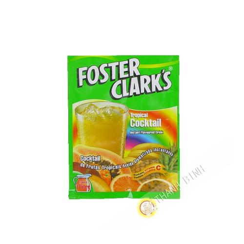 Boisson instantanée tropical cocktail FOSTER CLARK'S 45g Malte