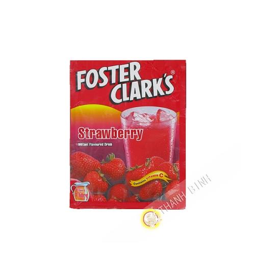 Bebida instantánea de fresa FOMENTAR CLARK 45g de Malta