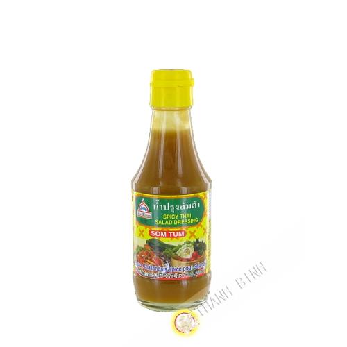 Salsa di insalata Tailandese piccante Som Tum POR KWAN 200g Thailandia