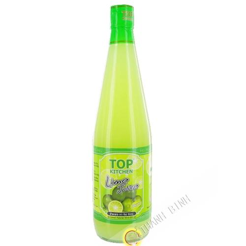 Lemon juice with green TOP KITCHEN 700ml Thailand