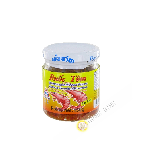 Shrimp paste Ruoc tom POR KWAN 150g Thailand