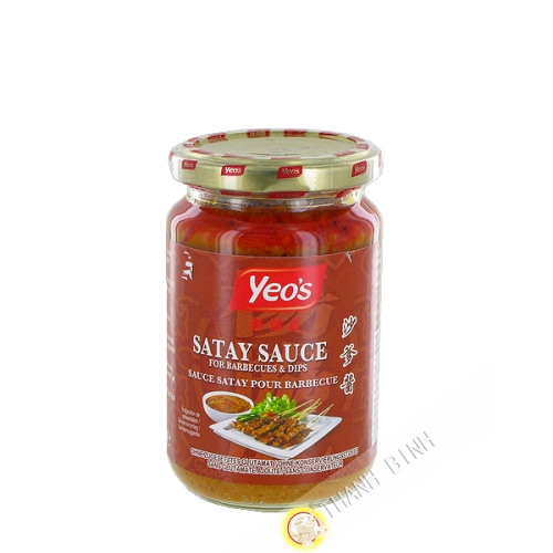 Sauce satay pour barbecue YEO'S 250ml Malasie